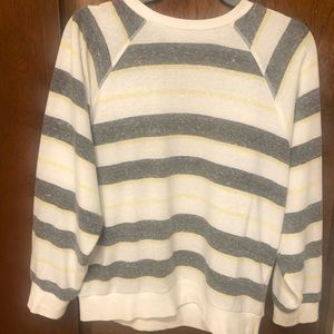 Urban Outfitters Striped Crewneck